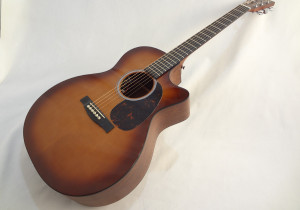 C.F. Martin GPCPA4 Shaded Acoustic Guitar Front Angled View