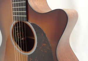 C.F. Martin GPCPA4 Shaded Acoustic Guitar Pickguard View