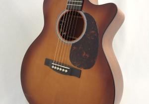 C.F. Martin GPCPA4 Shaded Acoustic Guitar Front Angled Body View