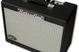"Retrofier Amplifier Black Built By George Kay ""Solid-State-Tube"""