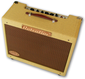 "Retrofier Amplifier Tweed Built By George Kay ""Solid-State-Tube"""