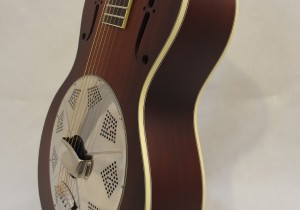 National Resonator El Trovador Guitar Front Angled View