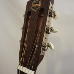 National Resonator El Trovador Guitar Headstock
