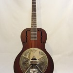 National Resonator El Trovador Guitar Full Front View