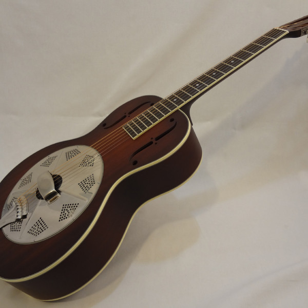 National Resonator El Trovador Guitar Front View