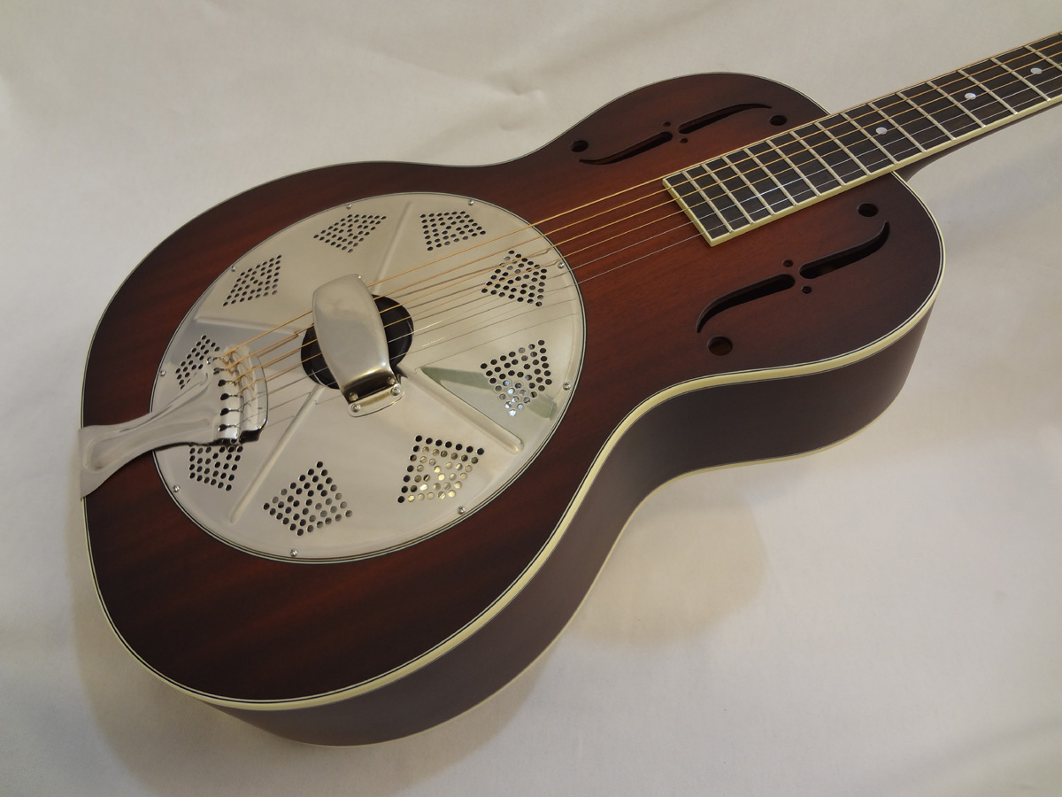 National Resonator El Trovador Front Close Up View