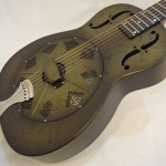 National Resonator NRP 14-fret Guitar Front Angled View