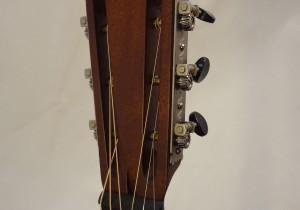 National Resonator NRP 14-fret Guitar Headstock View