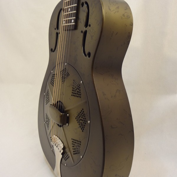 National Resonator NRP 14-fret Guitar Side View