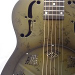 National Resonator NRP 14-fret Guitar Soundhole View