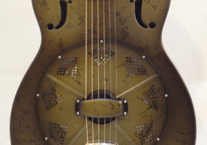 National Resonator NRP 14-fret Guitar Front Cone View