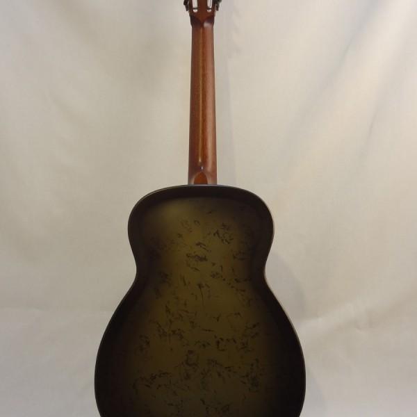 National Resonator NRP 14-fret Guitar Full Back View