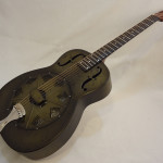 National Resonator NRP 14-fret Guitar Full Front Angled View