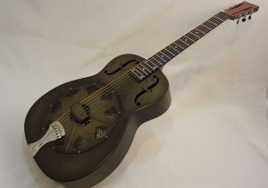 National Resonator NRP 14-fret Guitar Full Front Angled View