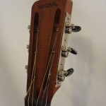 National Resonator NRP Tricone Painted Headstock