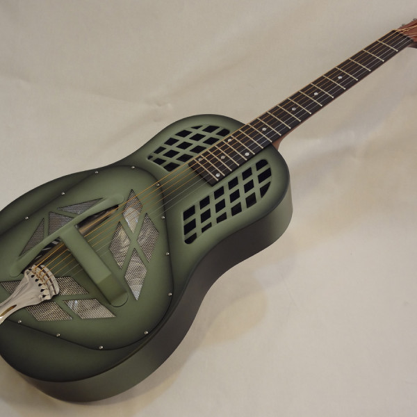 National Resonator NRP Tricone Guitar Front Angled View