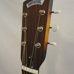 National Resonator Style O 14-Fret Headstock View