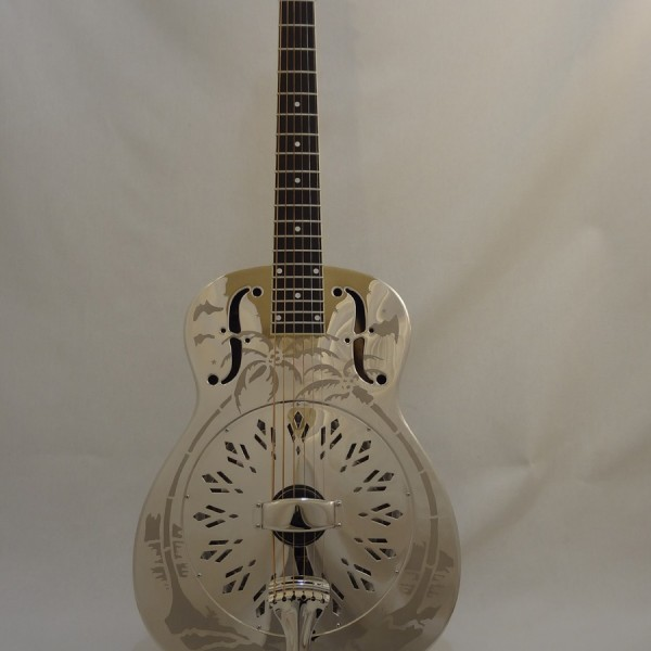 National Resonator Style O 14-Fret Full Front View