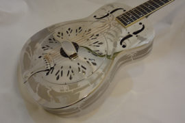 National Resonator Style O 14-Fret Front Angled View