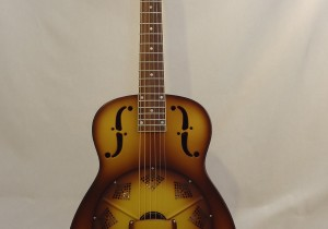 National Resonator Triolian 14 Fret Guitar Full Front View