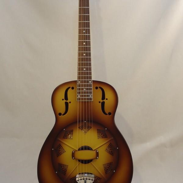 National Resonator Triolian 14 Fret Guitar Full Front View
