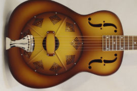 National Resonator Triolian 14 Fret Guitar Front Main View