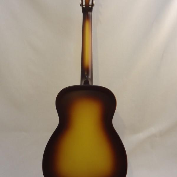 National Resonator Triolian 14 Fret Guitar Full Back View