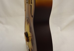 National Resonator Triolian 14 Fret Guitar Side View