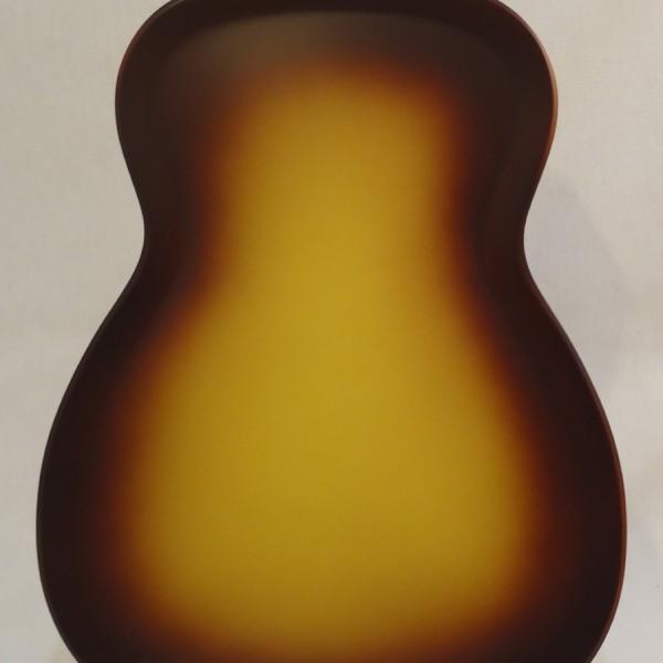 National Resonator Triolian 14 Fret Guitar Back Close Up View