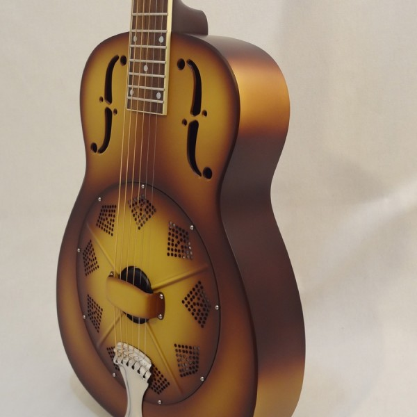 National Resonator Triolian 14 Fret Guitar Front Side View