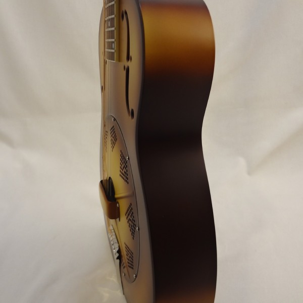 National Resonator Triolian 14 Fret Guitar Side View