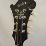 Weber Bitterroot F-Style Mandolin Headstock