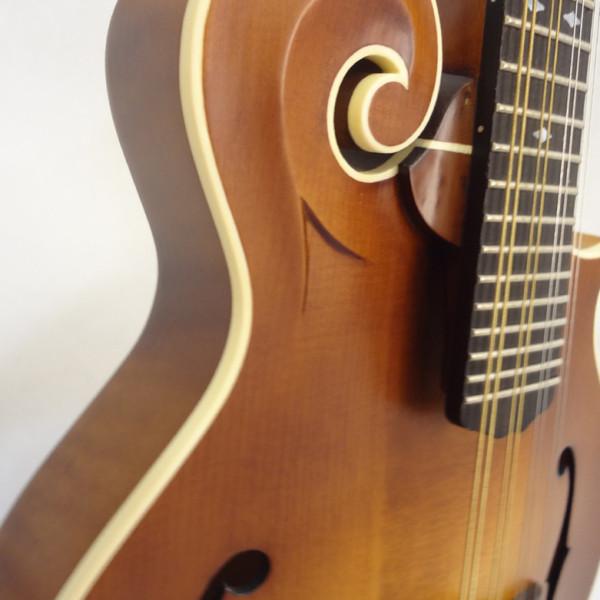 Weber Bitterroot F-Style Mandolin Binding View
