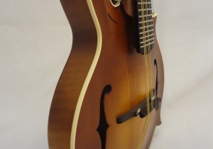 Weber Bitterroot F-Style Mandolin Side Angled View