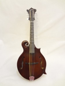 Weber Gallatin Wide Nut F-Style Mandolin Full Front View
