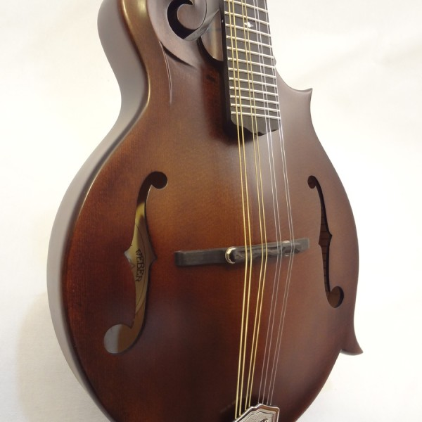Weber Gallatin Wide Nut F-Style Mandolin Front View