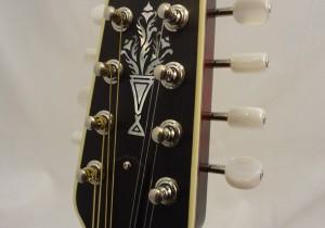 Weber Yellowstone A-Style Mandolin Headstock
