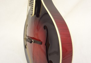 Weber Yellowstone A-Style Mandolin Side Angled View