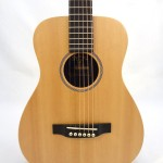 C.F. Martin Left-Handed Acoutic Guitar LX1-L Front Close Up