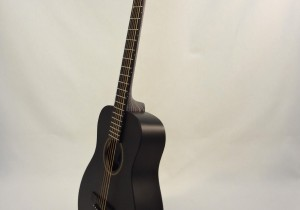 C.F. Martin Left-Handed Acoutic Guitar LX BLACK Side View