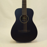 C.F. Martin Left-Handed Acoutic Guitar LX BLACK Front Close Up View