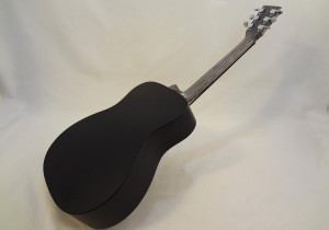 C.F. Martin Left-Handed Acoutic Guitar LX BLACK Back View