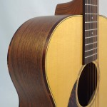 C.F. Martin Lefty Acoutic Guitar SWOMGT-L Detail Side View