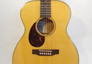 C.F. Martin Lefty Acoutic Guitar SWOMGT-L Front View