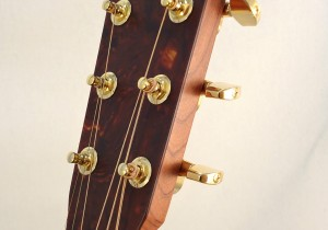 C.F. Martin Lefty Acoutic Guitar SWOMGT-L Headstock