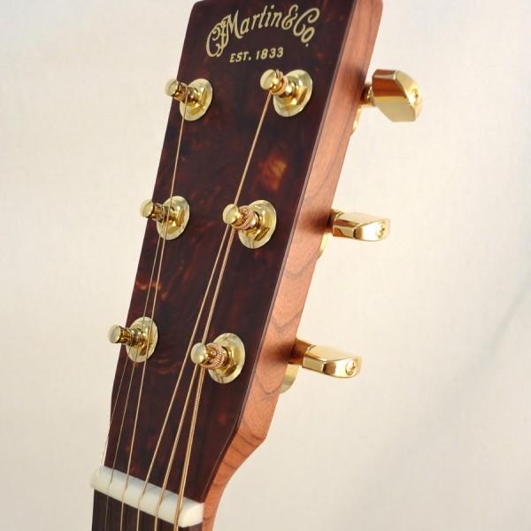 C.F. Martin Lefty Acoutic Guitar SWOMGT-L Headstock