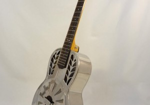 John Morton Parlor Resonator Guitar C-1786 Nickel-Plated Brass (1)