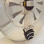 John Morton Parlor Resonator Guitar C-1786 Nickel-Plated Brass Tailpiece
