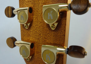 Kala Gloss Tenor Uke Headstock Back