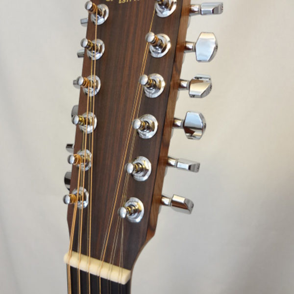 C.F. Martin D12X1AE Headstock Front